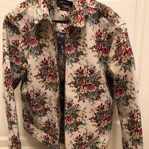 Vintage Floral Men's Jacket